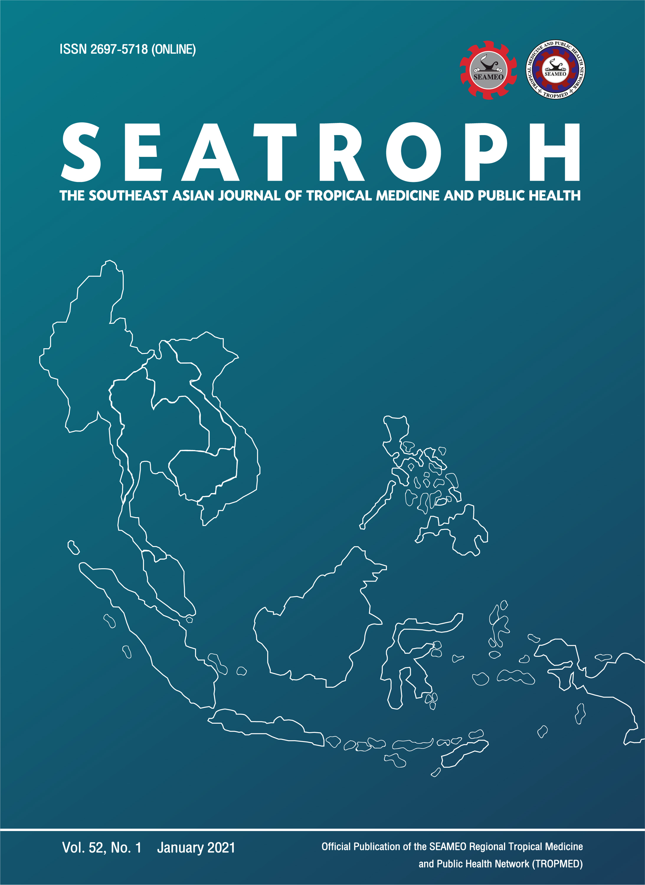 View Vol. 52 No. 1 (2021): THE SOUTHEAST ASIAN JOURNAL OF TROPICAL MEDICINE AND PUBLIC HEALTH