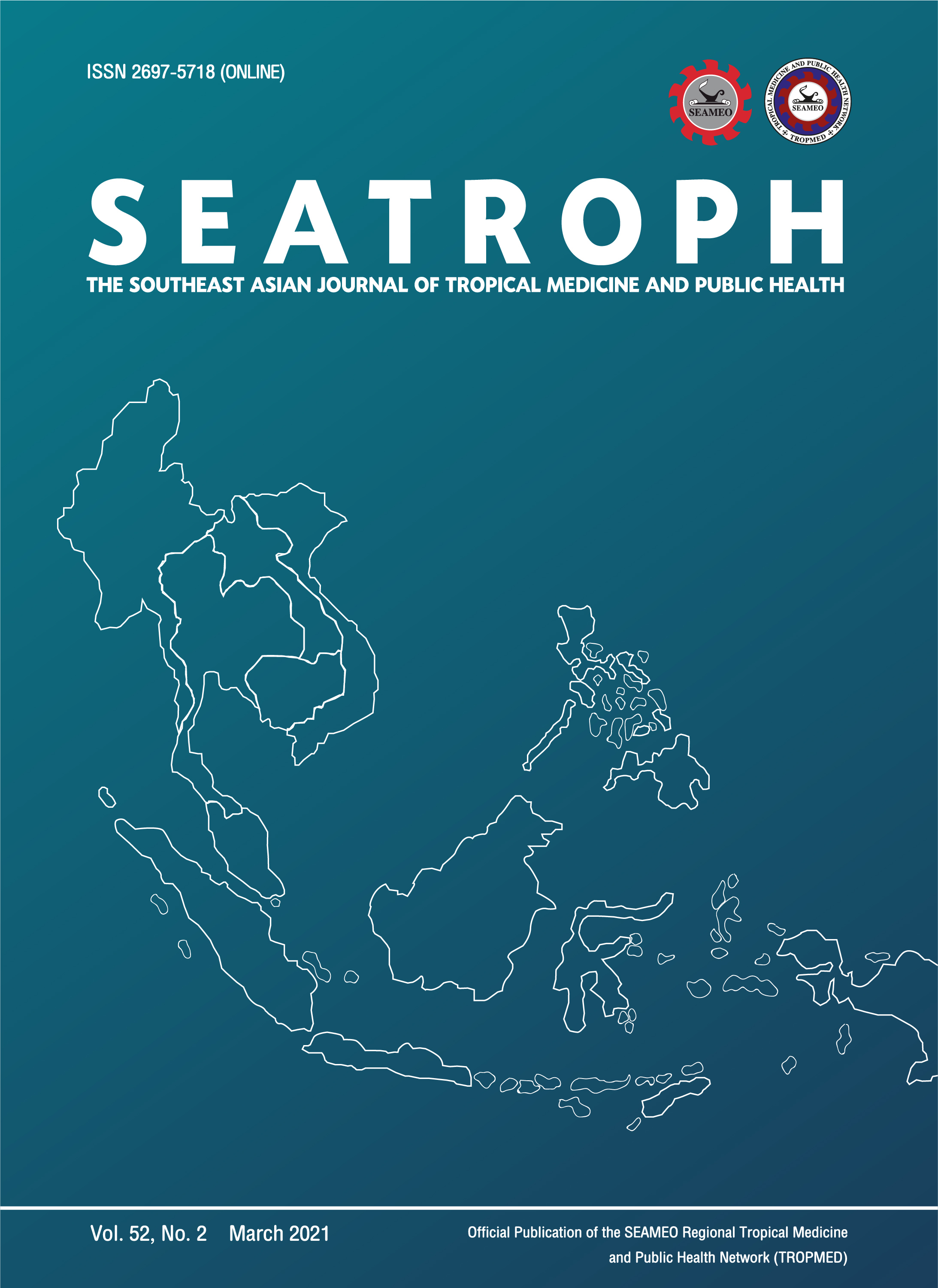 View Vol. 52 No. 2 (2021): THE SOUTHEAST ASIAN JOURNAL OF TROPICAL MEDICINE AND PUBLIC HEALTH